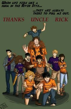 Percy Jackson and the Olympians :)