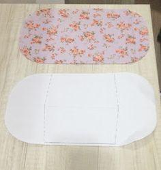 Como fazer uma carteira dupla de tecido.