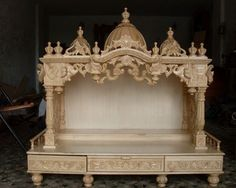 Wooden Temple, Wooden Handicraft Temple, Home Decoratives Kareli Bagh Vadodara 8720886