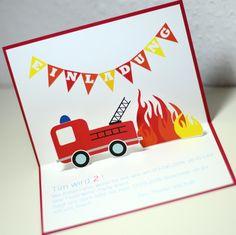Einladung Feuerwehrparty Mehr