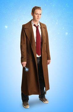 Doctor Who Ladies' 10th Doctor's Coat