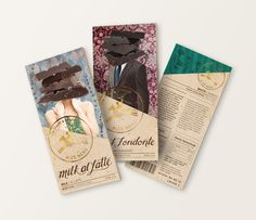 Alce Nero Chocolate Packaging on Behance