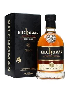 The first edition of Kilchoman's ongoing sherry cask matured whisky. Richly coloured, and full of Islay smoke and sherry fruit thanks to its initial maturation of over 5 years in Oloroso sherry but. Scotch Whisky, Bourbon Whiskey, Alcohol Spirits, Wine And Spirits, Scottish Greetings, Distillery, Whiskey Bottle, Liquor, Drinks