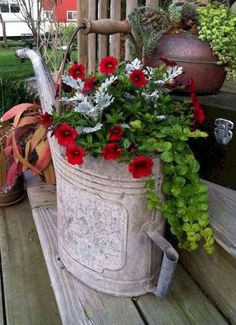 Add a planter of Shock Wave Rose Pelleted Petunia for a punch of pink in your flower container garden What brilliant color! frontdoorflower flower potflower ContainerGardening is part of Container gardening flowers - Container Flowers, Outdoor Flowers, Flower Garden, Flower Pots, Plants, Trailing Plants, Beautiful Flowers, Flower Planters, Flowers