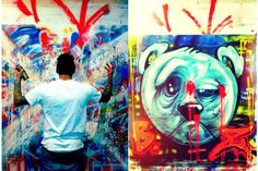 Chris Brown Graffiti Artwork | Popstar Artists - The Chris Brown Kid Zoom Artworks are Darkly ...