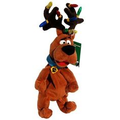 Scooby Doo Reindeer Antlers Christmas Lights - Warner Bros Bean Bag Plush Warner Brothers http://www.amazon.com/dp/B001GO5YTG/ref=cm_sw_r_pi_dp_oGpvwb1BZF2JP