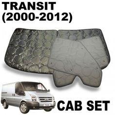 Kiravans Thermal Silver Screens- Ford Transit 3rd Generation (2000-2012) US