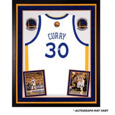 20e921a2b38 Stephen Curry Golden State Warriors Deluxe Framed Autographed White Swingman  Jersey Nba Golden State Warriors