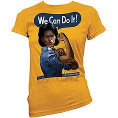 I need this shirt. FLOTUS  MICHELLE OBAMA SHIRT - Taylor Gifts