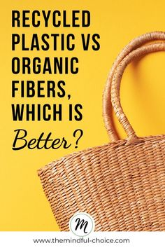 Ever wondered if you should buy recycled plastic vs organic fibers? Read this post to learn which solution is actually better for the planet.  #recycledplastic #organicfiber #sustainablysourced  #circularfashion  #circulareconomy Sustainable Fabrics, Sustainable Clothing, Sustainable Living, Sustainable Fashion, Reduce Reuse, Reuse Recycle, Recycling, Ethical Fashion Brands, Ethical Clothing