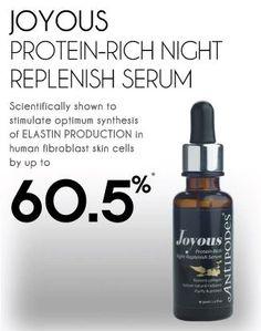 Joyous Protein-Rich Night Replenish Serum - Sleep Deeply in Nature's Nurture Sephora, Serum, Anti Aging, Protein, Ageing, Night, Fancy, Cosmetics, Natural
