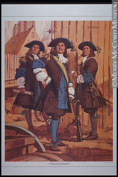 The Carignan-Salières regiment, the first regular troop to defend New France in 1665 © Tom McNeely / McCord Museum / French Armed Forces, France Outfits, Friedrich Ii, 17th Century Clothing, Quebec, Canadian History, French Army, Louis Xiv, Historical Architecture