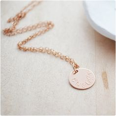 Rose Gold Enough Necklace - Wanderlust Collection - Roe Gold Filled…