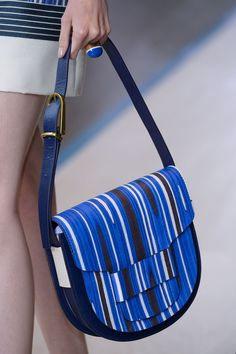 The 50 Best Bags From FashionMonth | StyleCaster Tory Burch HALF MOON TREND