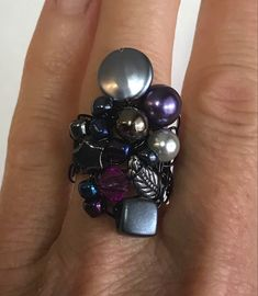 Bracelet, Floral, Flowers, Jewelry, Handmade Gifts, Ring, Fantasy, Handmade, Boucle D'oreille