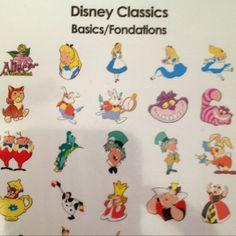 Disney Classics CRICUT cartridge: Alice in Wonderland