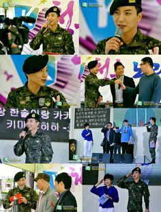"""MC Park Jung Soo on Army TV Show """"My Son Goes To Army"""""""