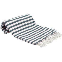 Beachcrest Home Peshtemal Fouta Turkish Cotton Bath Towel Color: Ocean Navy Turkish Bath Towels, Turkish Cotton Towels, Decorative Towels, Towel Set, Washing Clothes, Beach Towel, Blue Stripes, Home Decor