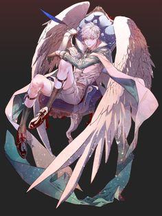 그림 : 네이버 블로그 Male Character, Fantasy Character, Game Character Design, Character Design Inspiration, Anime Angel, Fantasy Kunst, Fantasy Art, Anime Boys, Character Illustration