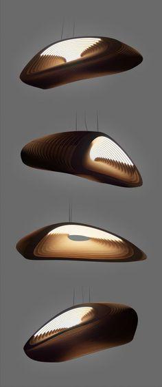 Andru Pavlov – Plywood lamp