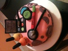 A make up cake for a 12 year old birthday!