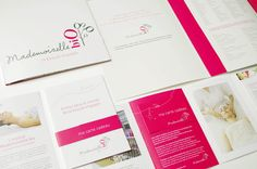 Agence Cécile Halley des Fontaines - Global design agency - Mademoiselle bio — retail - organic cosmetics shop — print