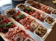 Tapas Appetizer Inspiration OR Inspired Taste of Spain TAPAS and More Party THEME!