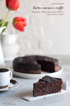 Chocolate Coffee, Chocolate Desserts, Delicious Desserts, Dessert Recipes, Sweet Corner, Italian Cake, Plum Cake, Tasty Dishes, Cake Cookies