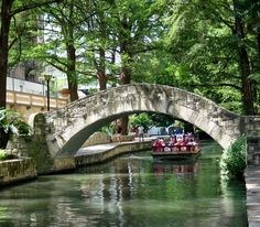 I want to take my daughter here:  The River Walk/The Alamo - San Antonio Texas.