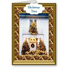 Christmas trees   Christmas Card