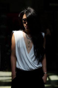 The Sartorialist at Missoni Daily Fashion, Love Fashion, Womens Fashion, Fashion Design, Hot Summer Outfits, Sartorialist, Street Style Summer, Missoni, Timeless Fashion