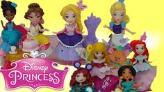 NEW Little Kingdom Disney Princess Snap Ins Ariel Cinderella Belle Tiana...