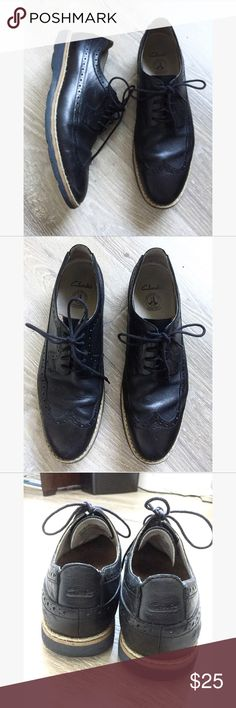 CLARKS • dressy loafer shoes Size 8.5 • normal wear Clarks Shoes Loafers & Slip-Ons