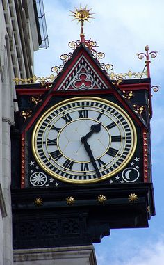 Clock, Fleet St. London KAKlon (384) | Flickr: Intercambio de fotos