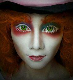 Mad Hatter Make Up