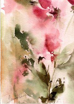 Original Watercolor Painting, Abstract Painting, Watercolour Art, Modern…