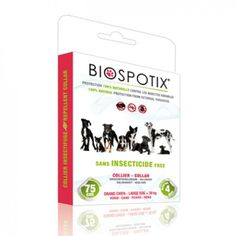 Natural flea repellent biospotix