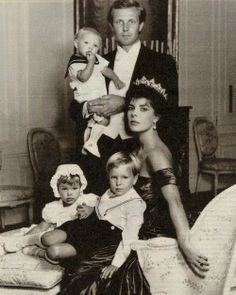 The famous Casiraghi trio; Andrea, Pierre and Charlotte -the children of Princess Caroline of Monaco and her late husband Stefano Casiraghi.