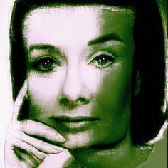 Retro #woman #face #portrait #warped #icolorama #distortion #distorted #mobileart #ipadart...