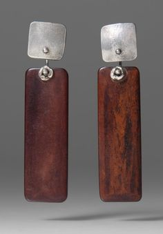 Holly Masterson Long Mahogany Earrings