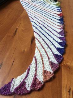 Endles Rainbow shawl