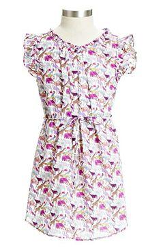 Peek 'Menagerie' Dress (Toddler Girls, Little Girls & Big Girls) available at #Nordstrom