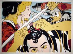 Kabuki Play, 1985 - Roger Shimomura