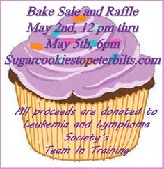 Sugar Cookies to Peterbilts: Bake Sale and Raffle