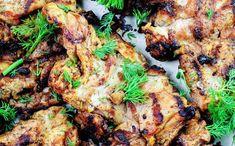 Grilled Chicken + Dill Greek Yogurt Sauce