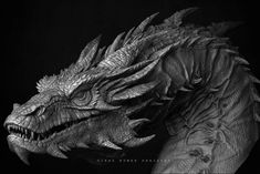 ArtStation - smaug, Vikas kumar Prajapati Dragon Pictures, Pictures To Draw, Fantasy Creatures, Mythical Creatures, Spider Face Painting, Dragon Tattoo Drawing, Smaug Dragon, Dragon Oriental, Lion Tattoo Design