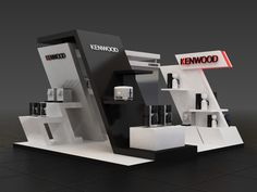 Kenwood BOOTH TriadCreativeGroup.com #WeBuildExhibits