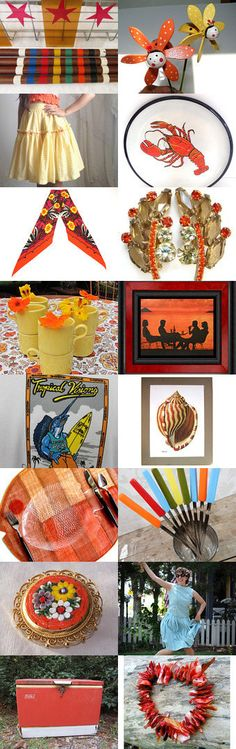 Get Your Summer On from the Vintage Vertigo Team by Anne on Etsy--Pinned with TreasuryPin.com
