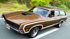 "1970 Ford Torino Squire Station Wagon, Cobra Jet 429 4Bbl V8/C6 auto/3.25 tac-lok 9"" axle"