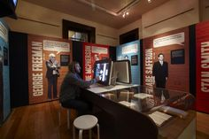 Sin City: crime & corruption in 20th-century Sydney exhibition installation view
